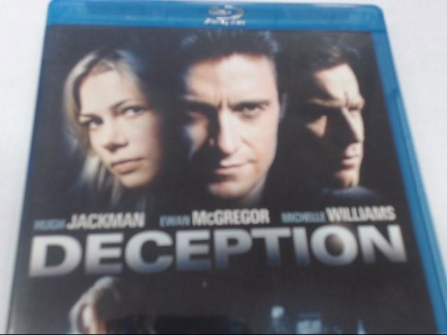 DECEPTION - BLU-RAY MOVIE