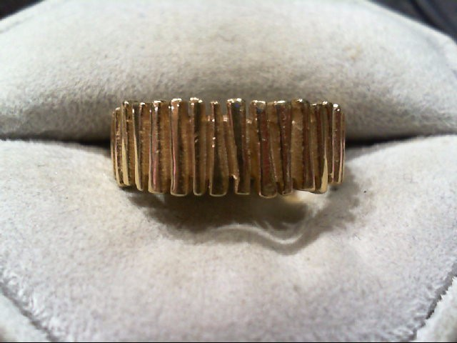 Gent's Gold Ring 14K Yellow Gold 4.6g Size:9