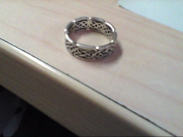 Lady's Silver Ring 925 Silver 5.4g Size:10.5