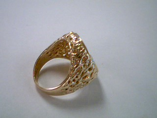 Gent's Gold Ring 14K Yellow Gold 13.8g Size:8