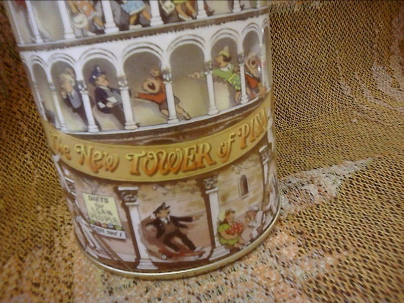 """MISC NEW MISC NEW MISC PACIFIC RIM 75933; 75933 11.2"""" TOWER OF PISA TIN"""