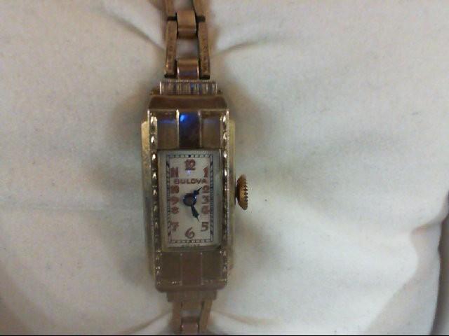 BULOVA Lady's Wristwatch 4AL