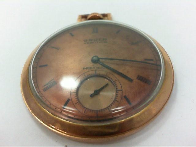 GRUEN Pocket Watch VERI-THIN PRECISION