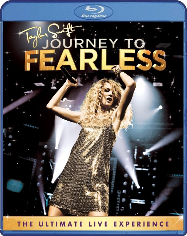 BLU-RAY MOVIE Blu-Ray TAYLOR SWIFT JOURNEY TO FEARLESS
