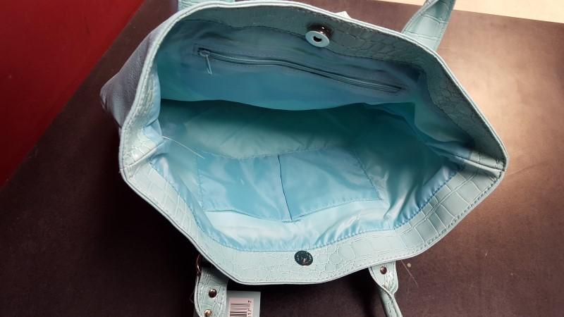 ULTA BEAUTY Handbag LIGHT BLUE HANDBAG