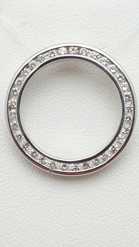 Gold-Multi-Diamond Pendant 33 Diamonds .47 Carat T.W. 14K White Gold 2.7g