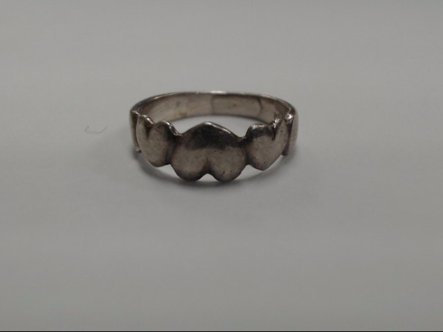 Lady's Silver Ring 925 Silver 2.5g Size:5