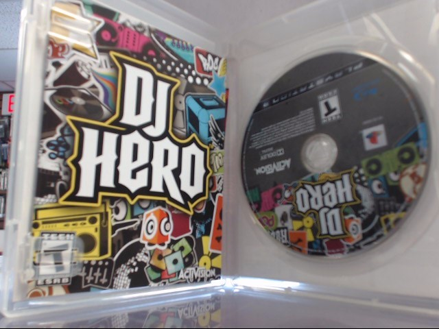 SONY DJ HERO PS3