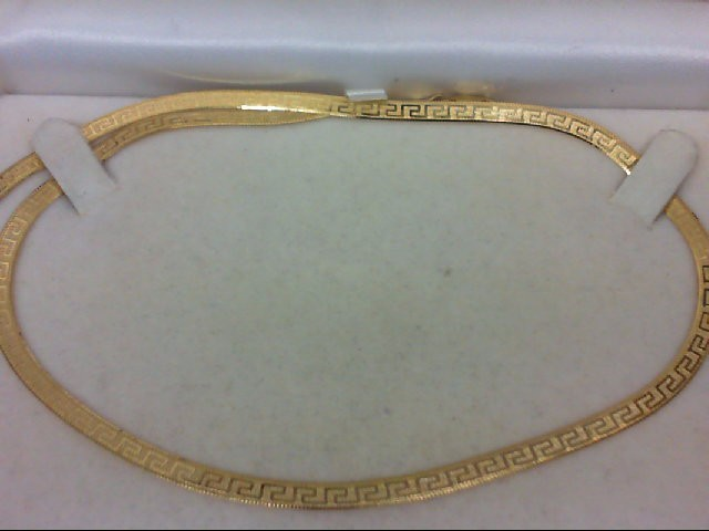 "18"" Gold Fashion Chain 14K Yellow Gold 6.8g"