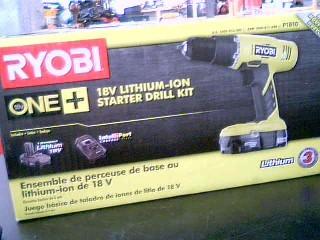 RYOBI Cordless Drill P1810