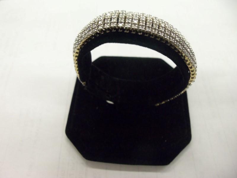 EXQUISITE 14K SOLID GOLD 340 DIAMOND ESTATE BRACELET