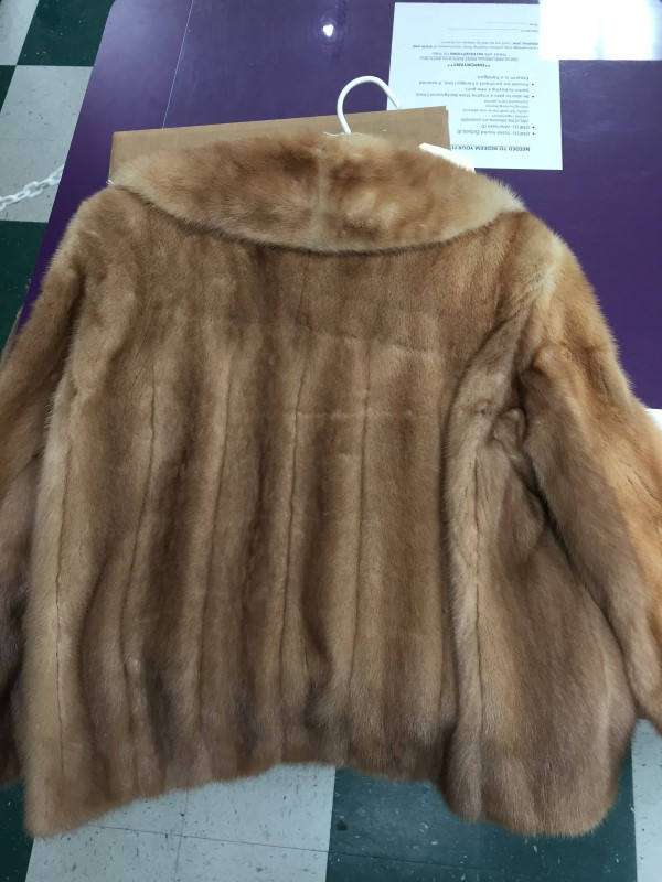 "JULIUS GARFINCKEL LADIES ""MINK""COAT, SIZE SMALL."