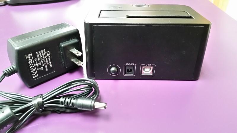 BLACX USB HDD DOCKING STATION