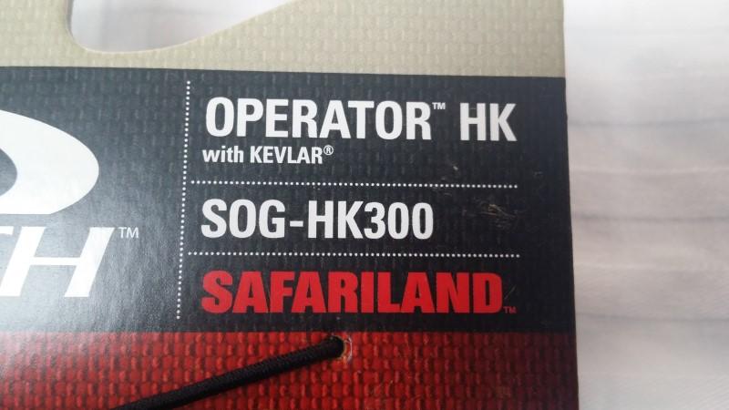 HATCH OPERATOR SOG-HK300 GLOVES WITH KEVLAR SIZE: LARGE