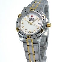 Wenger Ladies Stainless Date Wristwatch Swiss Military - 79096