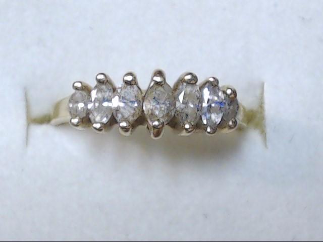 DIAMOND RING  14K  2.2G  S-6