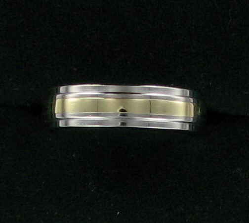 Gent's Ring Silver Stainless 3.8dwt
