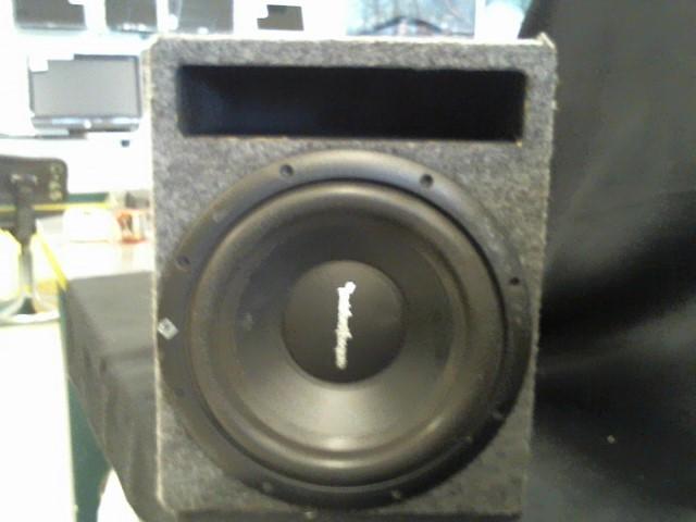 "ROCKFORD FOSGATE Car Speakers/Speaker System 10"" SUBWOOFER"