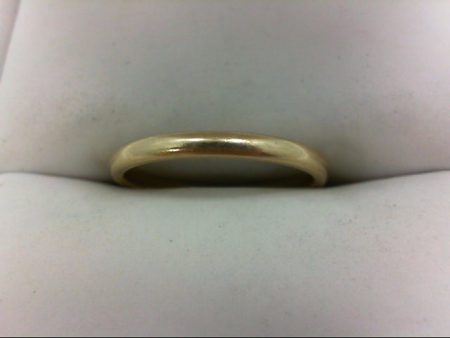 Lady's Gold Ring 10K Yellow Gold 1.5g Size:5.75