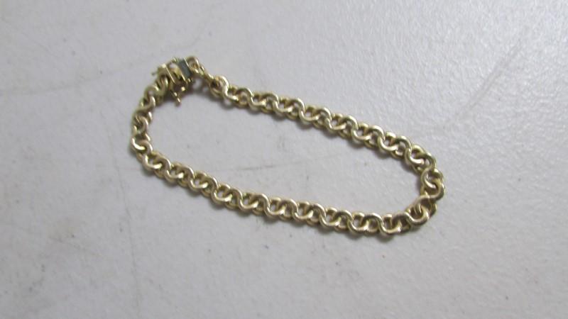 "19"" Gold Chain 14K Yellow Gold 20.55g"