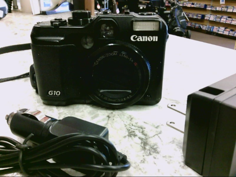 CANON POWERSHOT G10 14 MP CAMERA