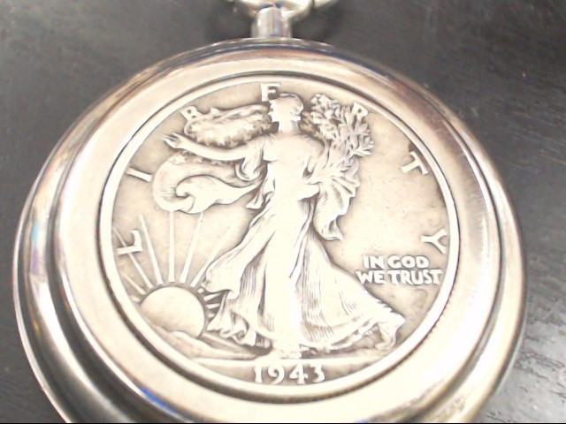 JAMES MICHAEL 1943 LIBERTY COIN PACKET WATCH
