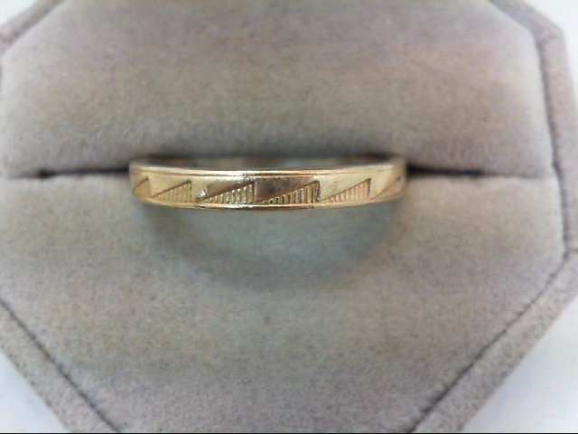 Gent's Gold Ring 14K Yellow Gold 3.7g