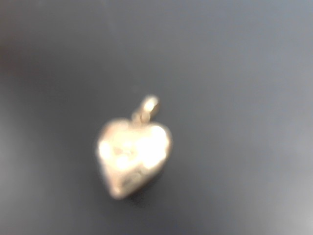 Gold-Diamond Solitaire Pendant .01 CT. Yellow Gold Filled 1.7g