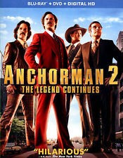 BLU-RAY MOVIE ANCHORMAN 2