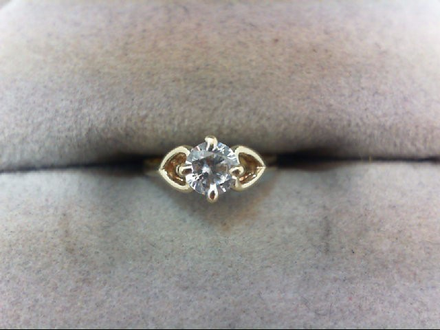 Child's Gold Ring 14K Yellow Gold 0.7g