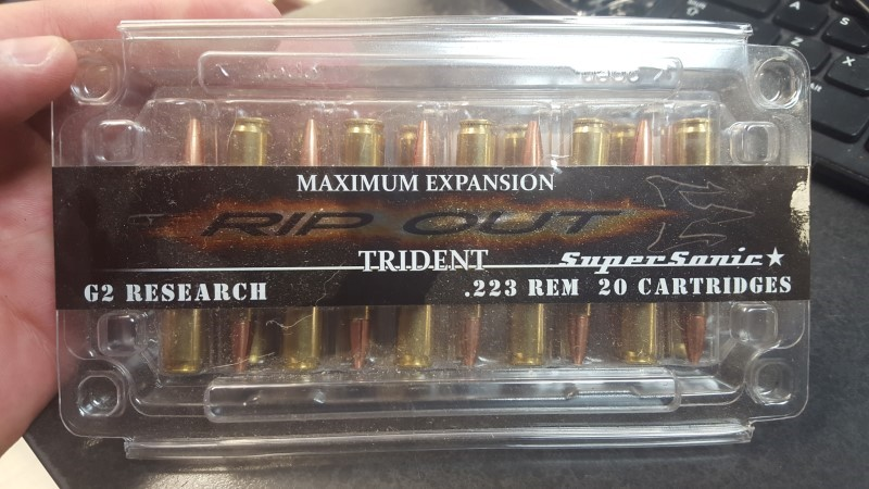 G2 RESEARCH AMMO Ammunition 223