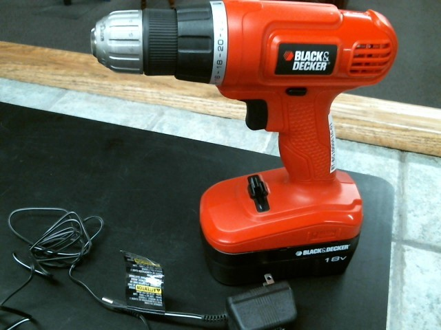 BLACK & DECKER Cordless Drill GC1800