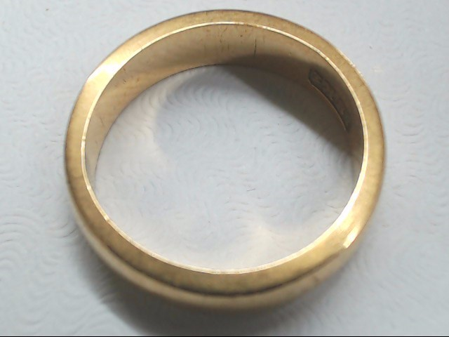 Gent's Gold Ring 18K Yellow Gold 5.9g Size:6.3