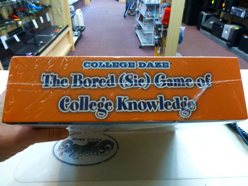 College Daze Virginia The University Board Game of College Knowledge
