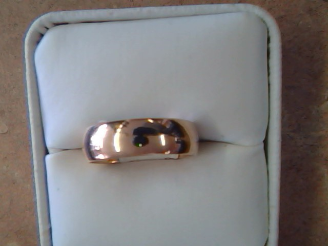 BAND RING JEWELRY , 14KT, 4.90 G