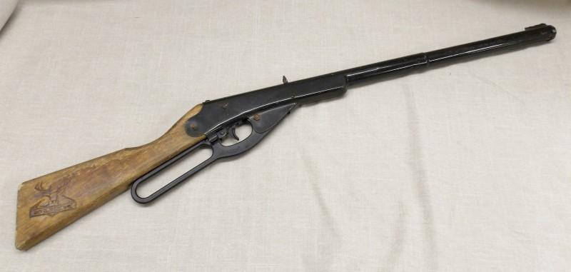 VINTAGE DAISY Air Gun/Pellet Gun/BB Gun Lever Action Rifle MODEL 105B