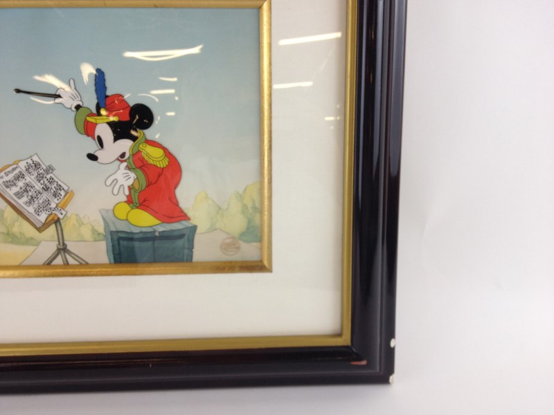 Mickey Mouse The Band Concert Limited Edition 22/275 cel w/coa