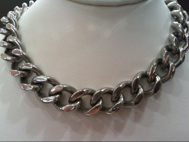 Misc. Costume Jewelry Silver Stainless 114.1g