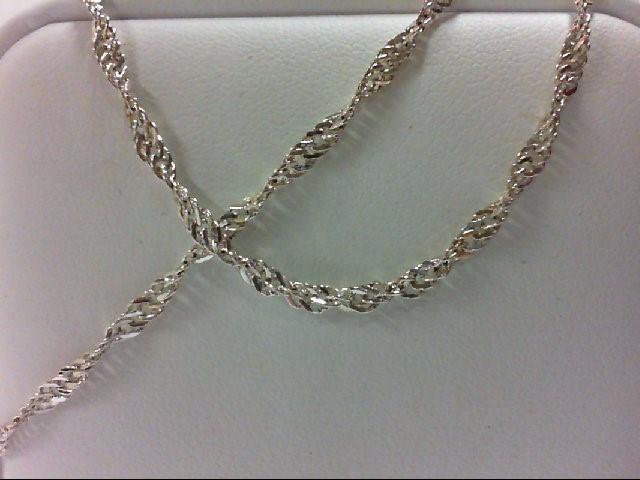 "17"" Silver Chain 925 Silver 3.2g"