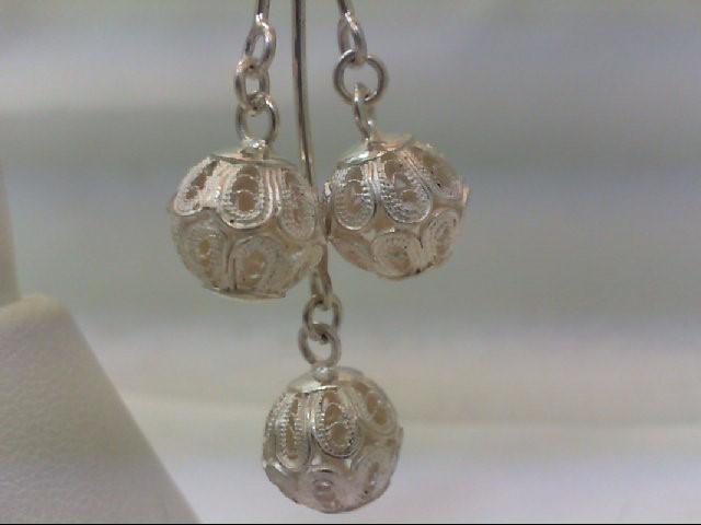 Silver Earrings 925 Silver 8.7g