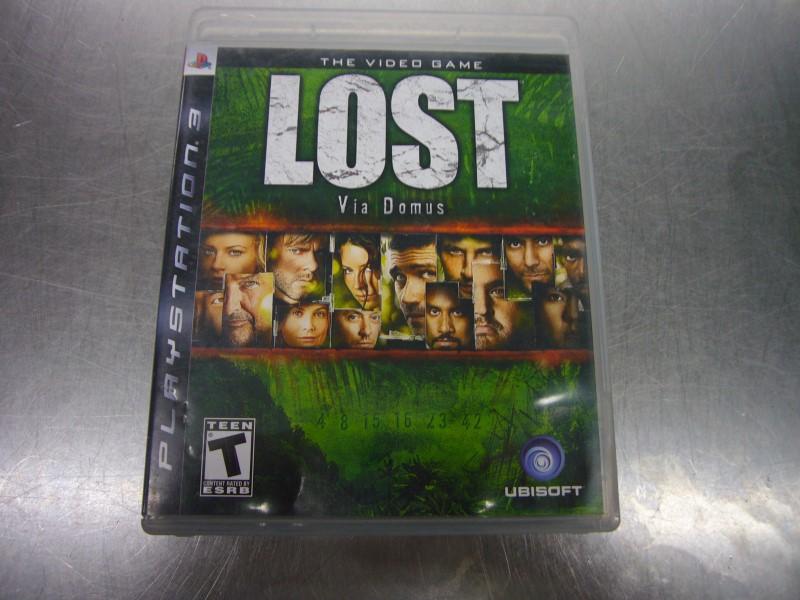 SONY Sony PlayStation 3 Game LOST VIA DOMUS