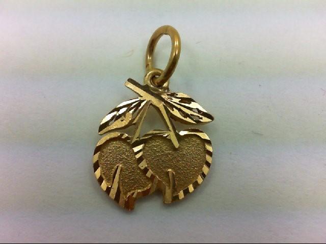 Gold Charm 14K Yellow Gold 1.6g