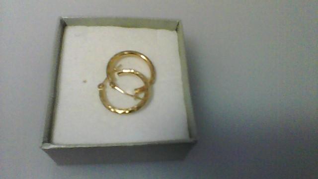 Gold Earrings 10K Yellow Gold 0.7g