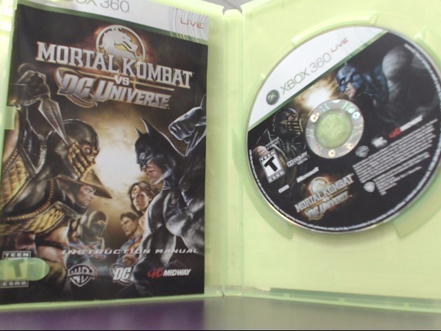 Mortal Kombat vs. DC Universe (Microsoft Xbox 360, 2008) Tested!