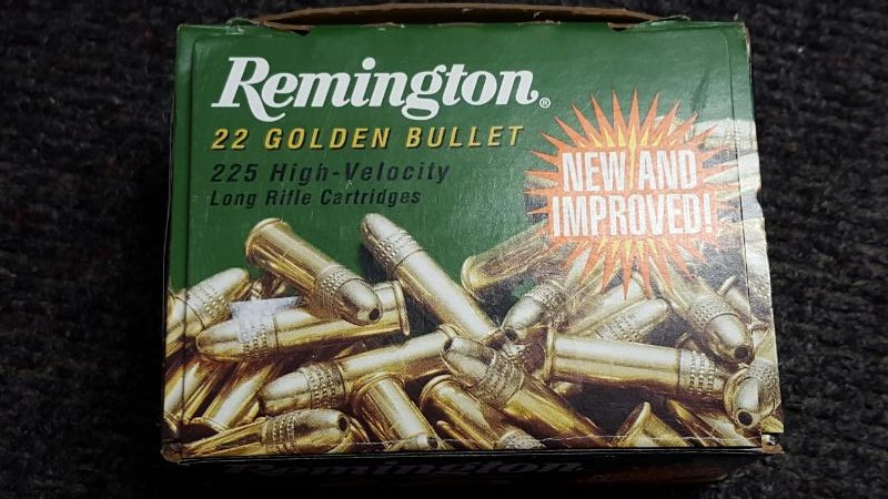 REMINGTON FIREARMS Ammunition 22 GOLDEN BULLET