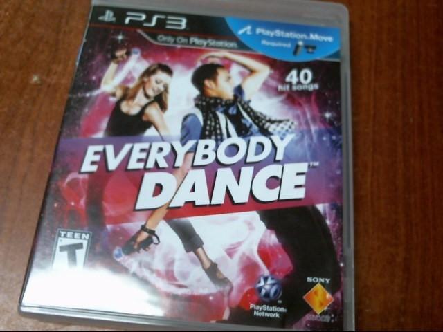 SONY PS3 EVERYBODY DANCE