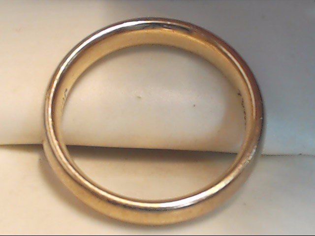 Gent's Gold Ring 10K Yellow Gold 4.5g Size:7.5