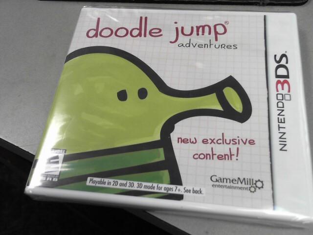NINTENDO Nintendo 3DS DOODLE JUMP ADVENTURES