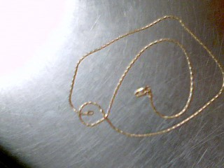 """16"""" Gold Link Chain 14K Yellow Gold 4.1g"""