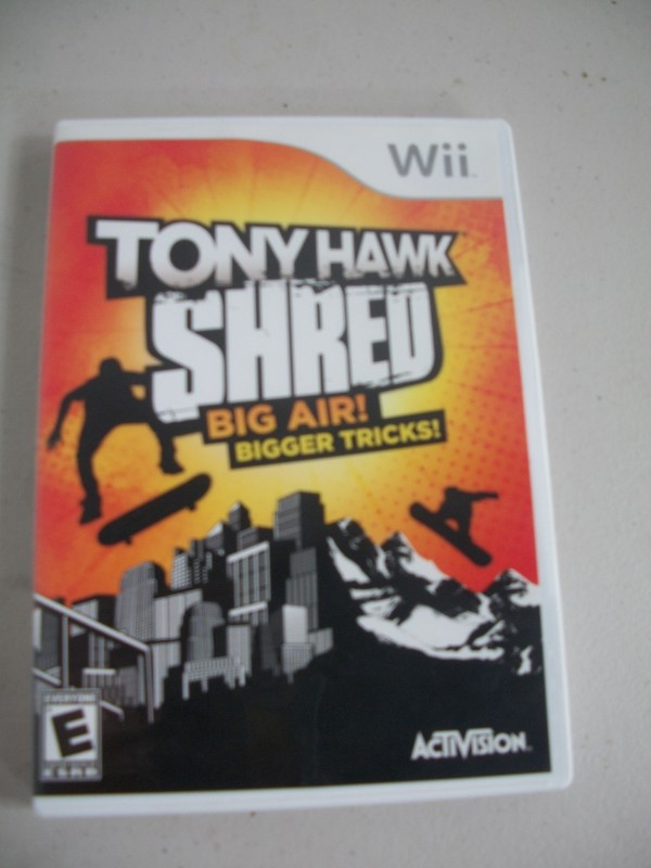 NINTENDO Nintendo Wii WII TONY HAWK SHRED